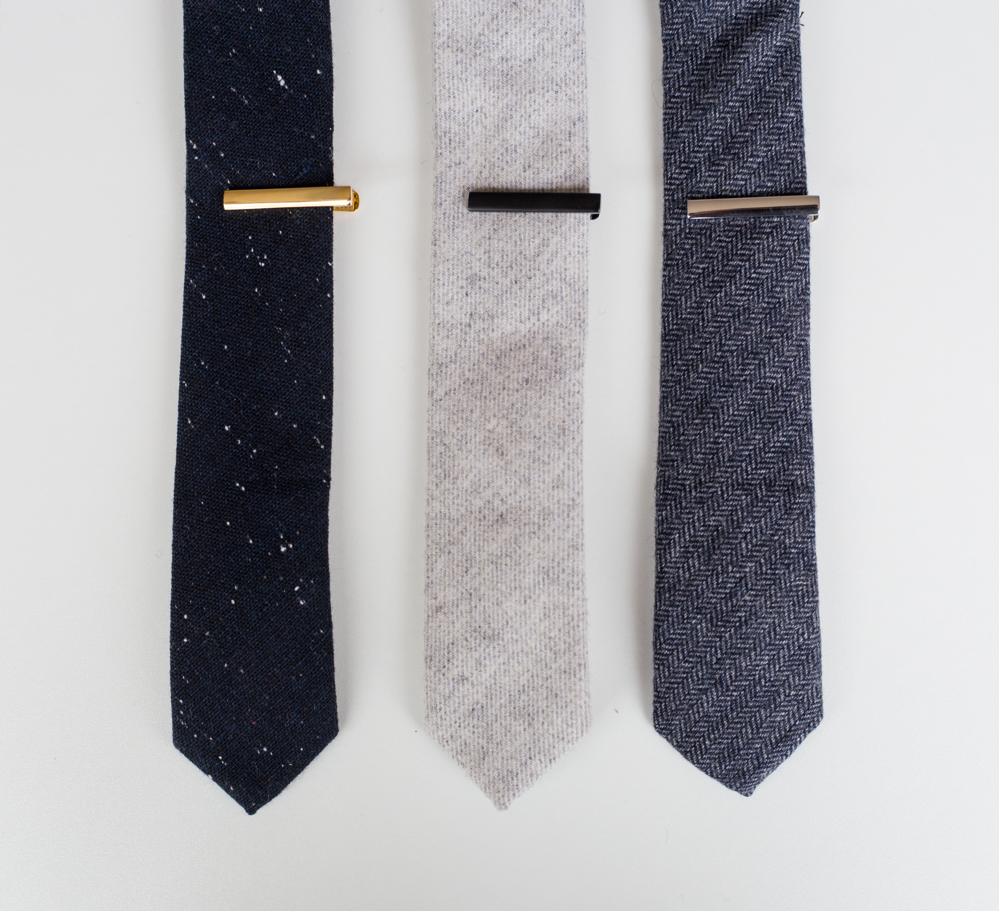 3-Pack of Tie Bars (End of Ties)