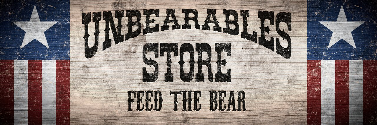 - SHOP THE UNBEARABLE STORE