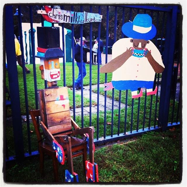 Richmond Folk Festival detail, 2014
