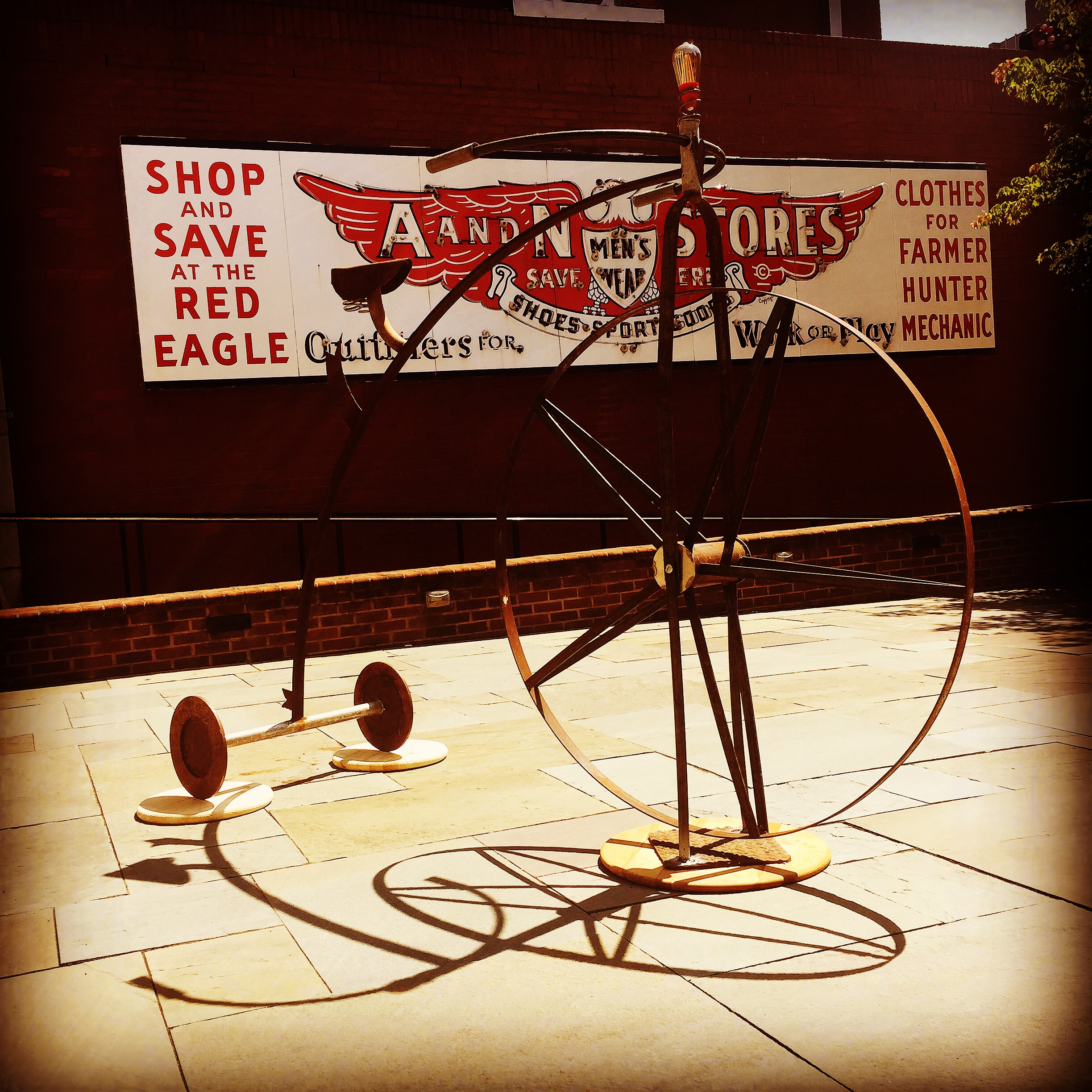 Big Wheel, Valentine History Museum, Richmond 2015