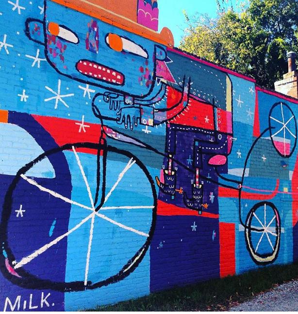Cask mural, Richmond 2015