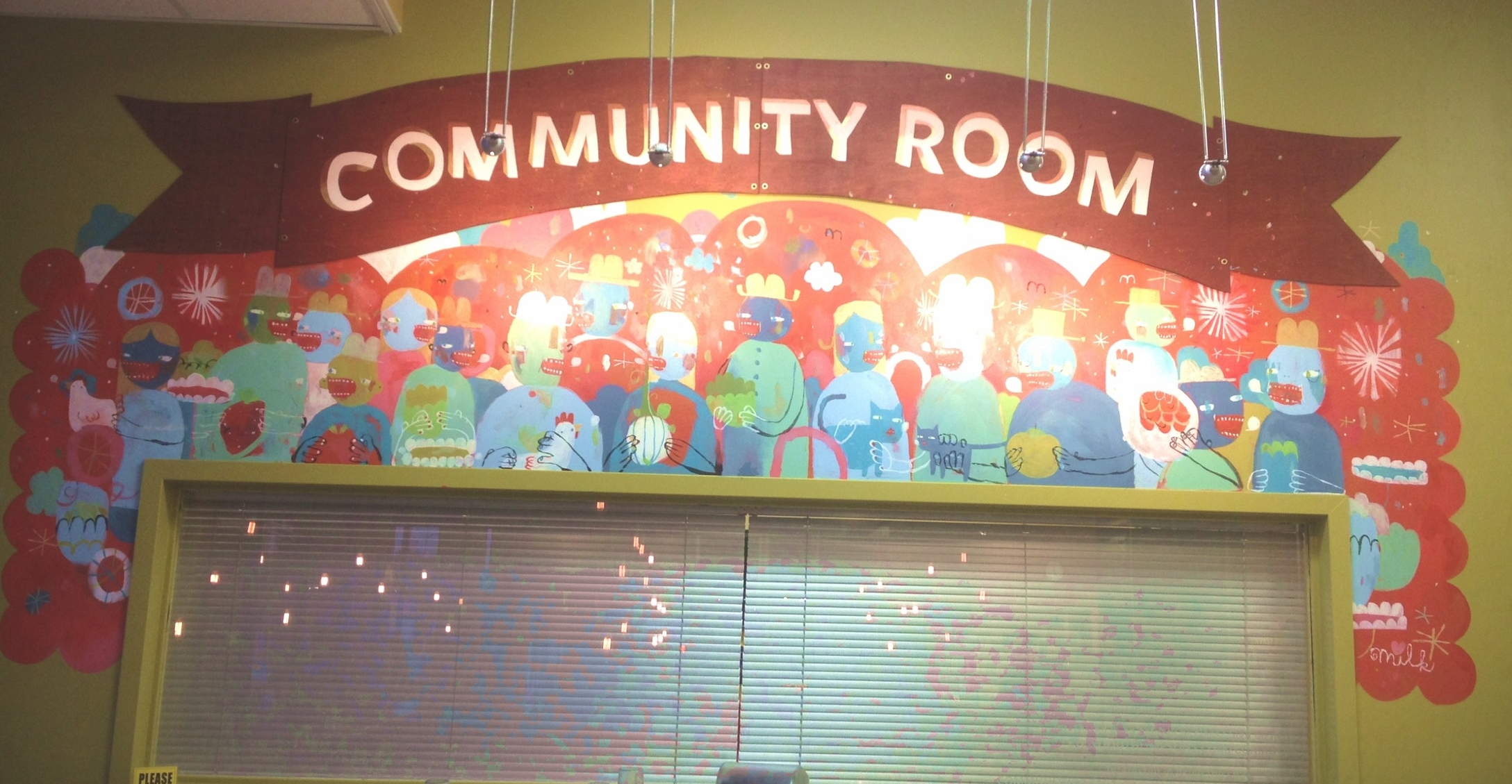 Ellwood Thompson Local Market Community Room, Richmond 2013