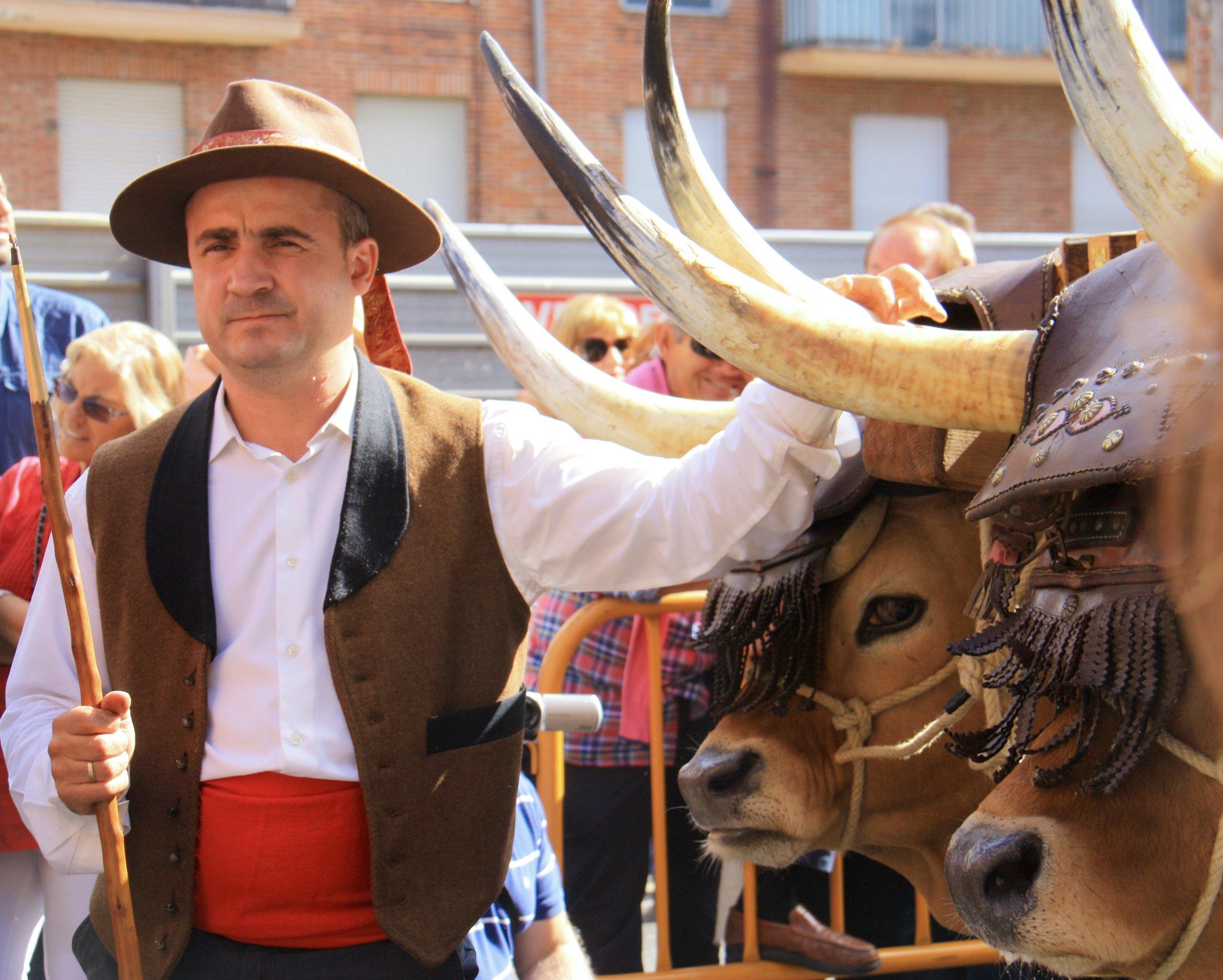 Fiestas throughout the year.