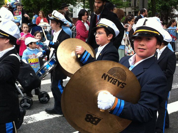 Yeshiva marching band in The Great Parade.