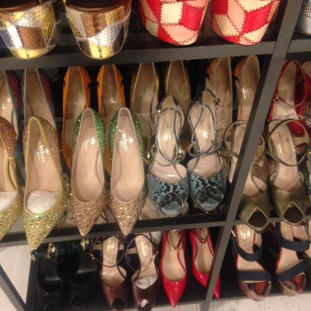 la perla sample sale shoes.jpeg