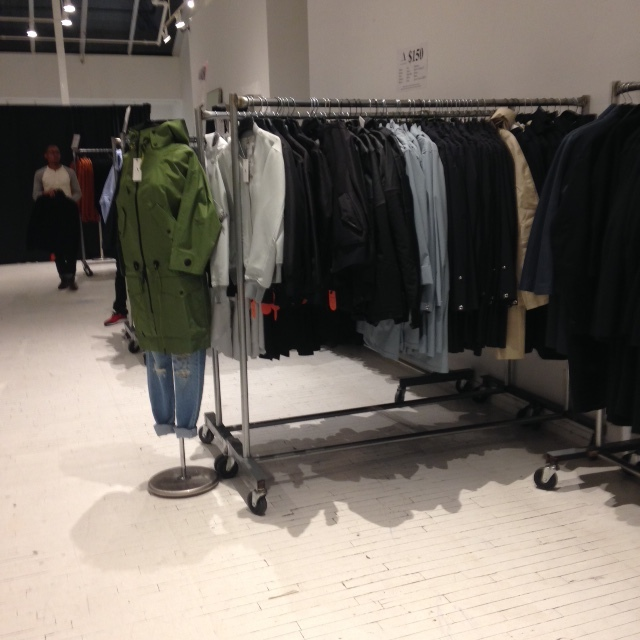 the arrivals sample sale 4.JPG