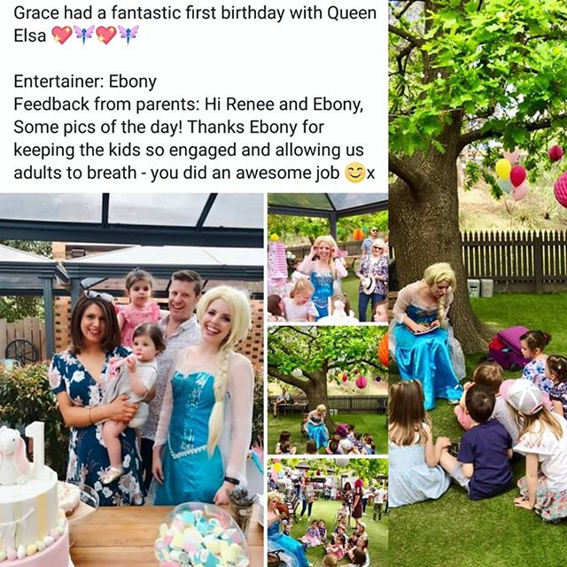 #queenelsa #birthdayparties #funtimes #entertainers #entertainment #princess #magicalhappenings