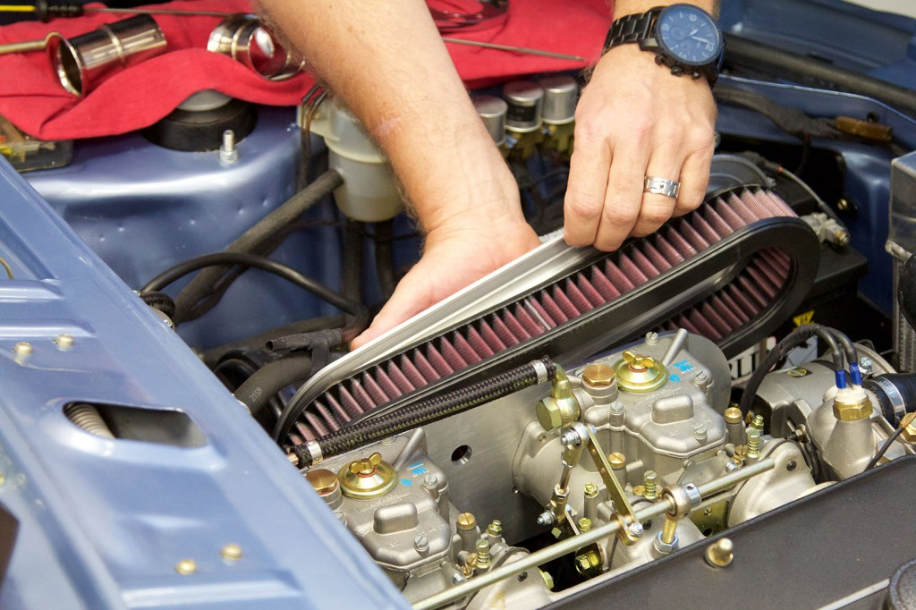 BMW 2002 E10 WEBER Velocity Stack Air Filters for  Side Draft Carburetors