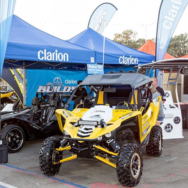 We aren't just found in automobiles. Any #Powersports Builders out there with a #Clarion setup?