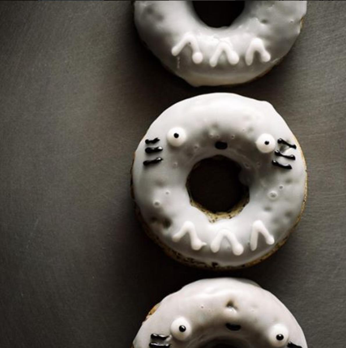 Wishing everyone a happy National Donut Day �!! #totoro #blacksesame #nationaldonutday #donutworry #studioghibli