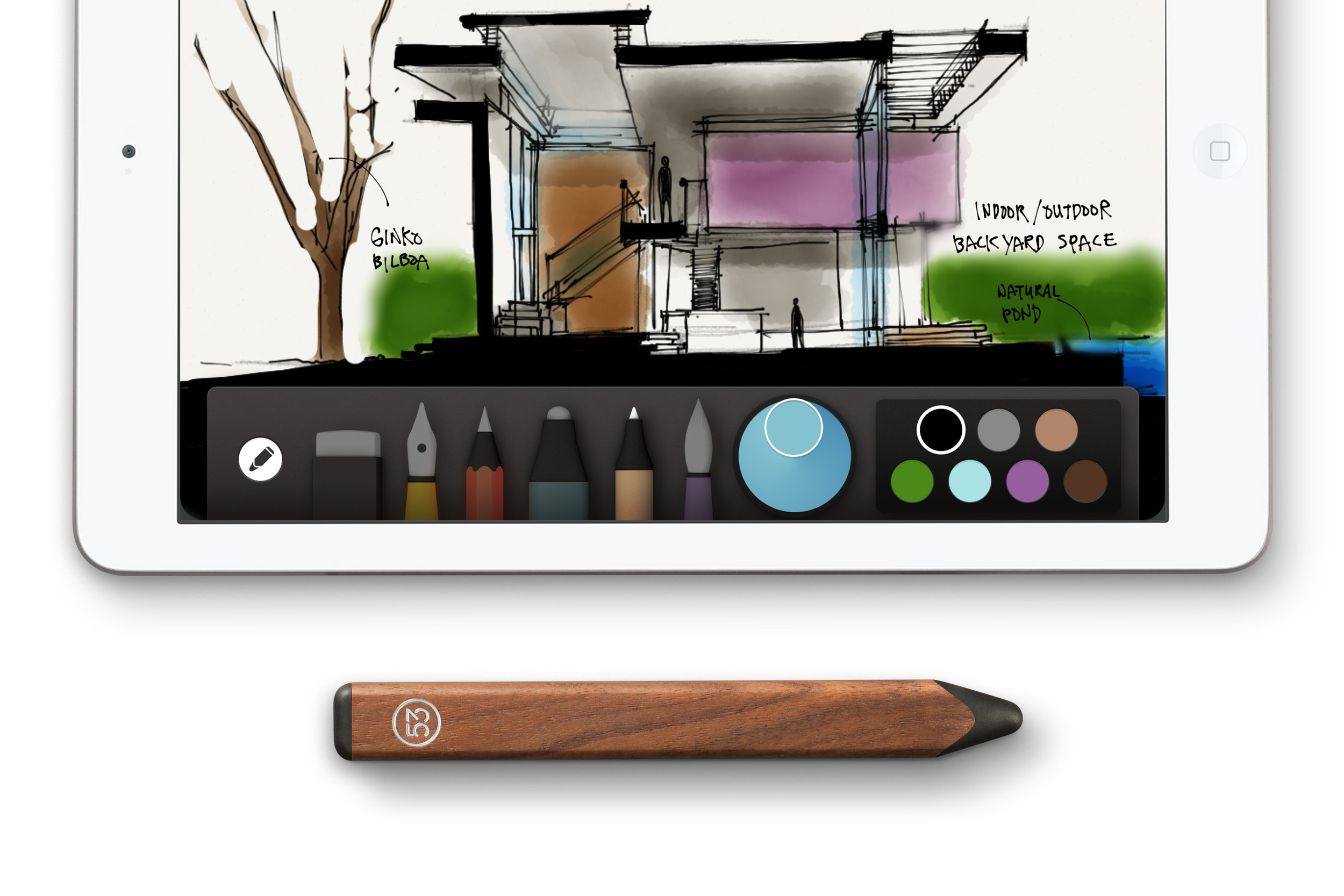 """Just ordered the """"Pencil"""" stylus for the Paper app - an awesome artsy Christmas gift for a special someone."""