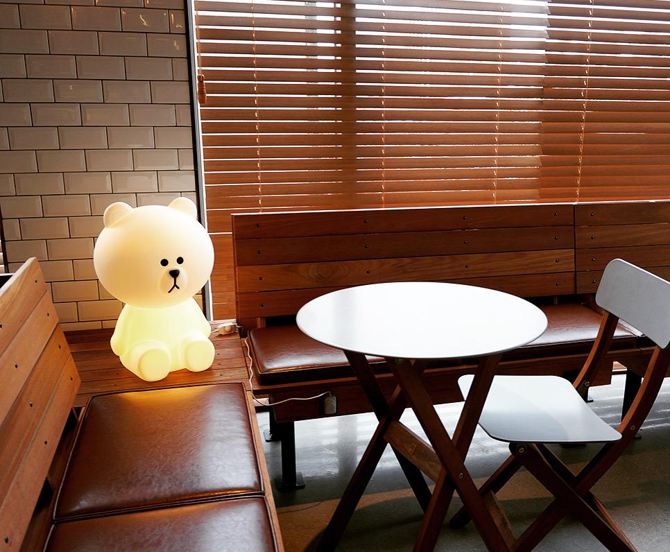 lighting cafe korea interior design