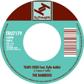 "47. The Bamboos    'Amen Brother'/ 'Tears Cried' feat. Kylie Auldist  Tru Thoughts 7"" TRU7179 (Tru Thoughts) UK 2008"