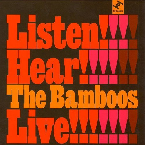 44. The Bamboos 'Listen! Hear! The Bamboos Live!  Tru Thoughts CD TRUCD155 (Tru Thoughts) UK 2008  1. Intro - Jan Jan/Sing A Simple Song/Lickin' Stick, Lickin' Stick/Doin' It To Death/Root Down (And Get It) 2. The Bamboos Theme 3. Another Day In The Life Of Mr Jones 4. The Witch 5. Step It Up 6. I Don't Wanna Stop 7. Bring It Home 8. Interlude - Hot Pants Break Down/Captain Buckles/Upstairs On Boston Road/Ghetto Funk/Sister Janie 9. My Baby's Cheating (I Sure Got The Feeling) 10. Never Did I Stop Loving You 11. Amen Brother