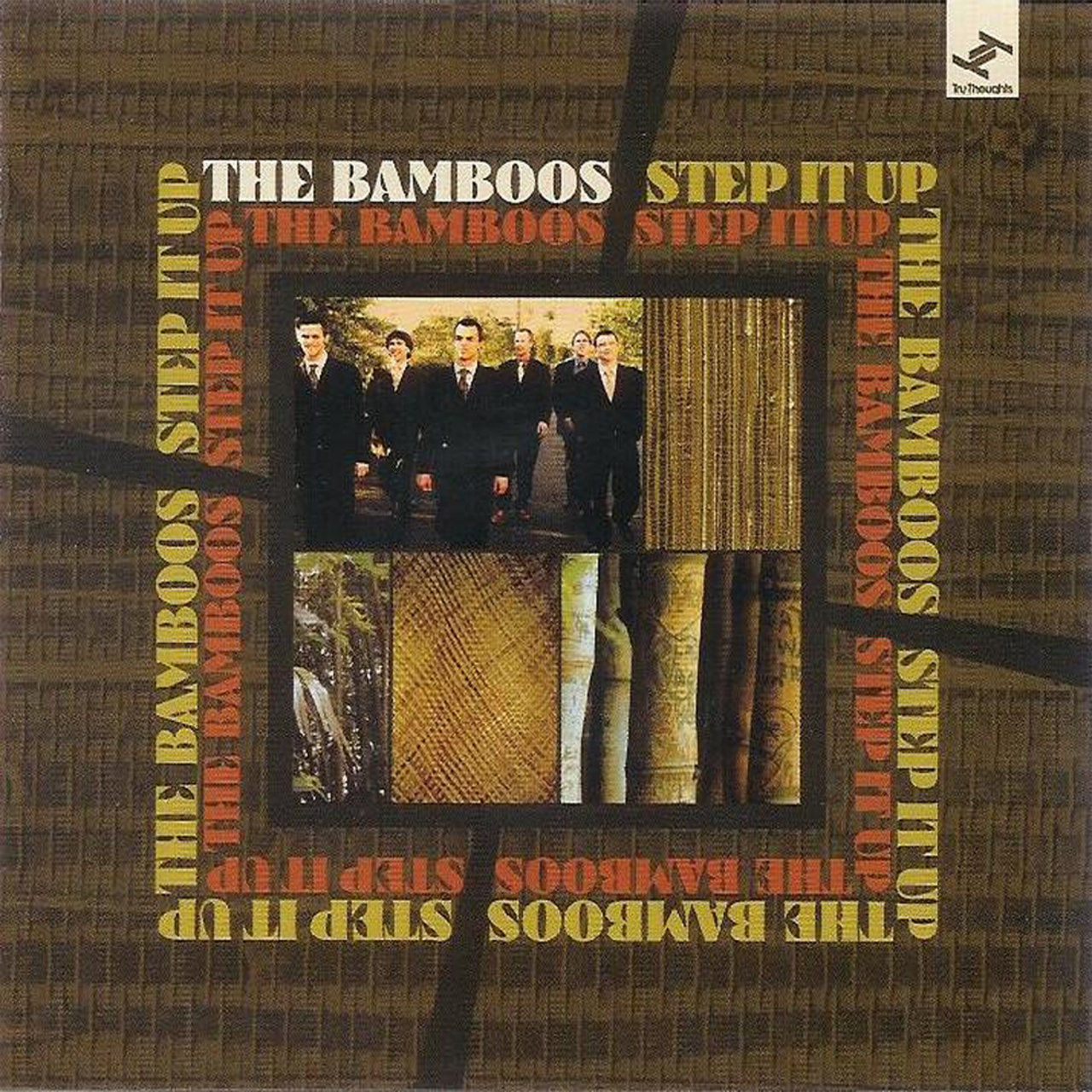 24. The Bamboos – 'Step It Up'   CD/LP (Tru Thoughts/Ubiquity) UK/USA 2006  1. 'Step It Up' feat. Alice Russell 2. 'Tighten Up' (Album Version) 3. 'In The Bamboo Grove' 4. 'Golden Rough' 5. 'Blackfoot' 6. 'Transcend Me' feat.Alice Russell; 7. 'Tobago Strut' 8. 'Another day In The Life Of Mr Jones' 9. 'Eel Oil' 10. 'Crooked Cop 11. Voodoo Doll' (Album Version)