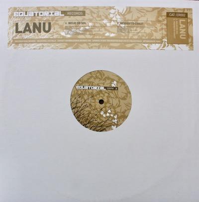 """6. LANU - 'BEIJO DO SOL' / 'MOSQUITO COAST'  12"""" single (EQUATORIAL) AUS 2003"""