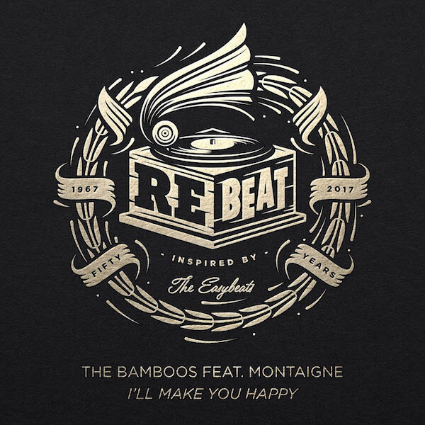 126. the bamboos - i'll make you happy (feat. montaigne)/rebeat ep  digital single (bmg) AUS 2017