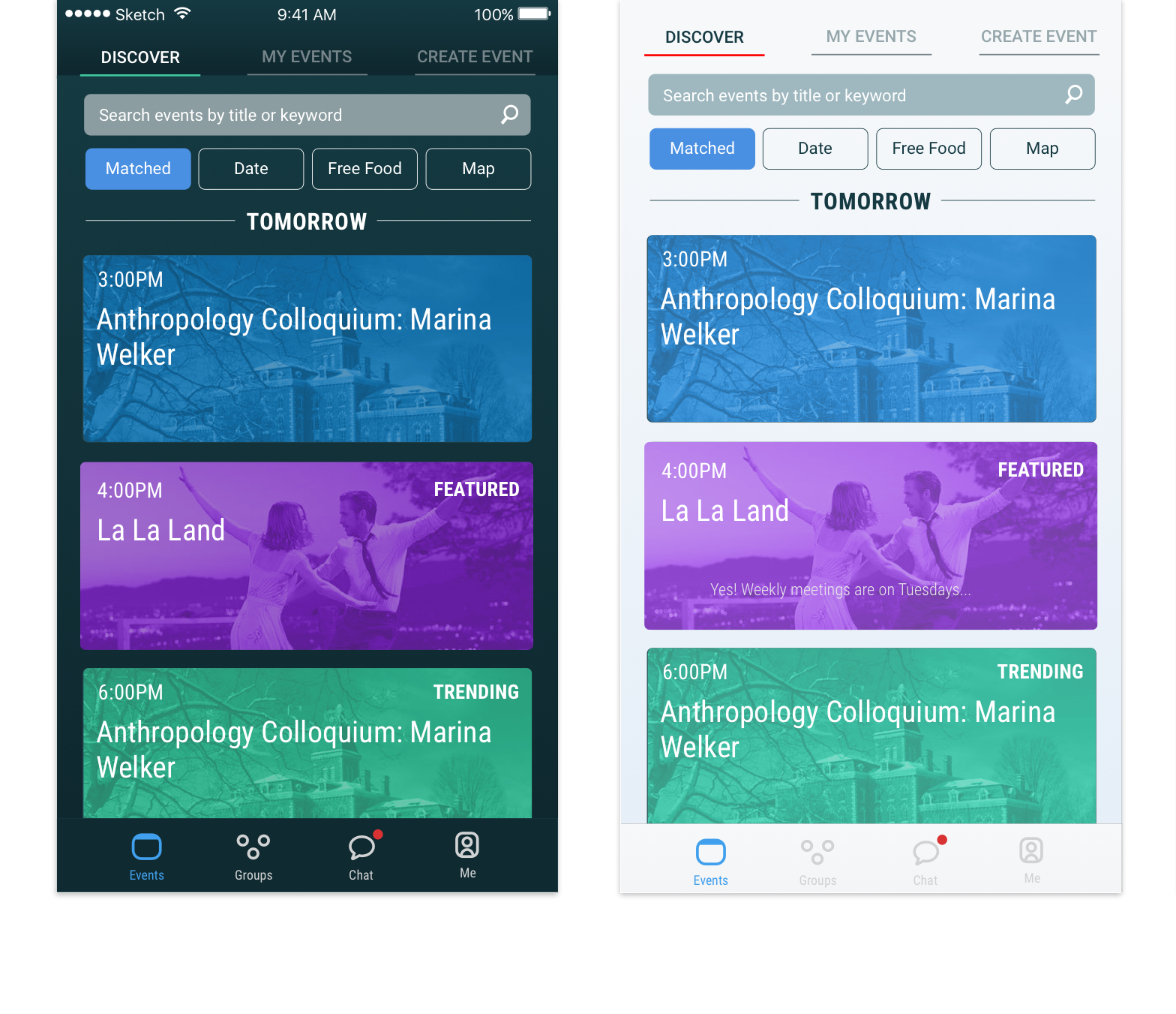 in-app iterations - coming soon