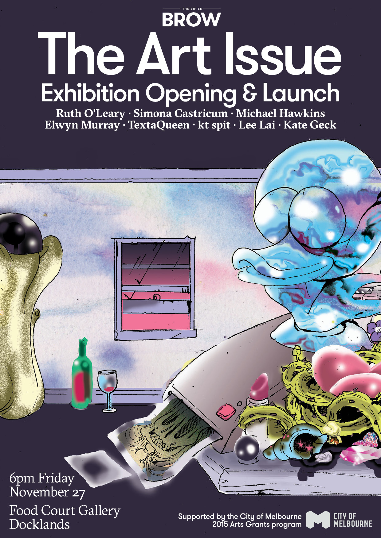 Put  our upcoming Art Issue exhibition launch  in your calendar, friends?