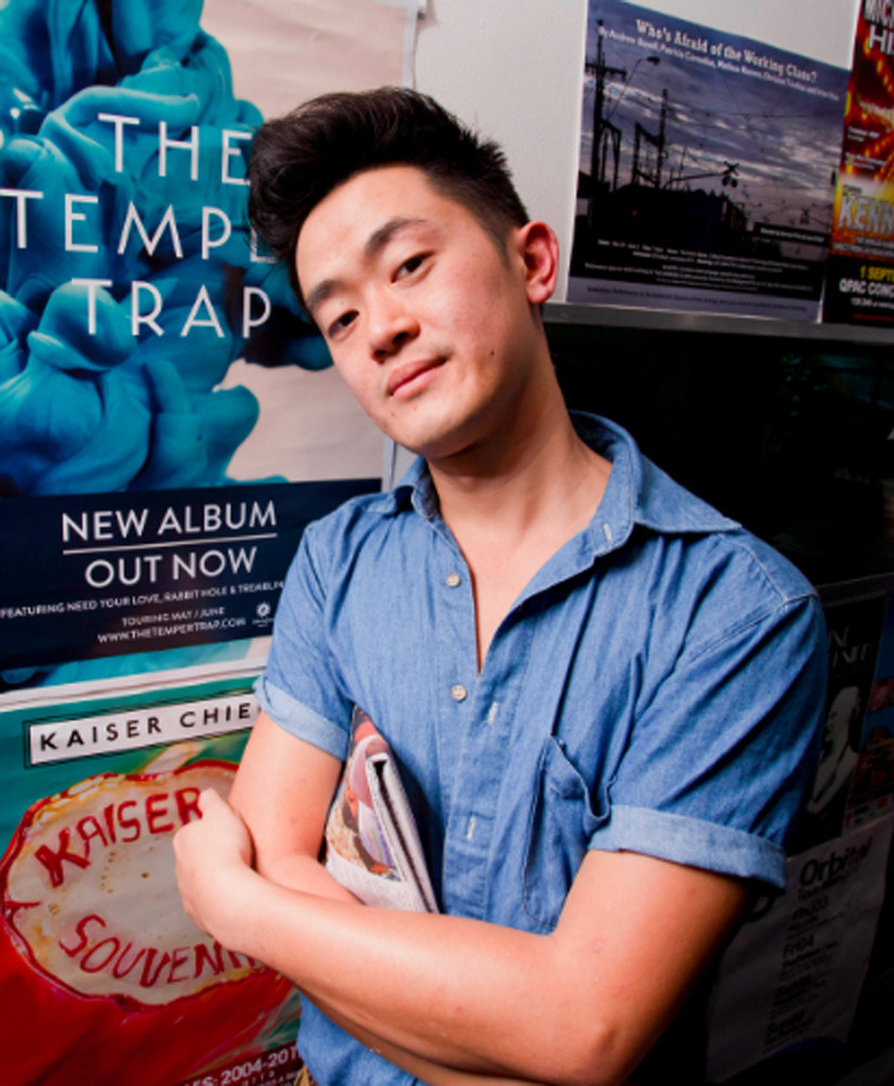 Featured Contributor: Benjamin Law     browcontribs :     Benjamin Law is the author of two books:  The Family Law  (2010) and  Gaysia: Adventures in the Queer East . He regularly writes for  Good Weekend ,  frankie  and  Qweekend.     Read Benjamin's fiction piece 'Family Pride' in  TLB 4 .    Read Benjamin's fiction piece 'Heat! Vermin! Pestilence! (Australia)' in  TLB 6 .    Read Benjamin's piece 'Law School Questions' in TLB  13,   14 ,  15 ,  16 ,  17 ,  18 ,  19 ,  20 ,  21 ,  22  and  23 .