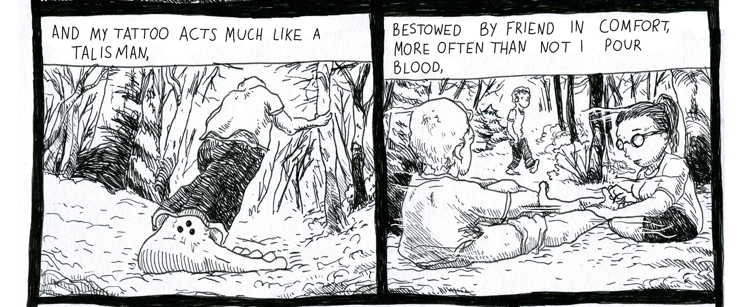 COMIC - David C. Mahler - fingernail blood (page 1).jpg