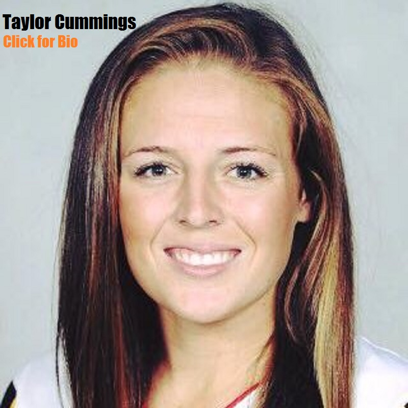 Taylor Cummings  First-ever three-time Tewaaraton Award winner (2014, '15, '16)  Three-time Honda Award winner (2014, '15, '16)  Four-time IWLCA First Team All-American (2013, '14, '15, '16)  Three-time IWLCA National Midfielder of the Year (2014, '15, '16)  Two-time Big Ten Midfielder of the Year (2014, '15)  Four-time All-Conference team member (2013, '14, '15, '16)  Two-time NCAA Championship Most Outstanding Player (2014, '15)  Three-time NCAA Championship all-tournament team (2014, '15, '16)  Two-time ESPY Best Female College Athlete nominee (2014, '15)  U.S. National Team member (2014-pres.)  Two-time Conference All-Tournament team (2014, '16)  2016 Big Ten Tournament MVP  2014-15 Big Ten Female Athlete of the Year  2013 ACC Freshman of the Year