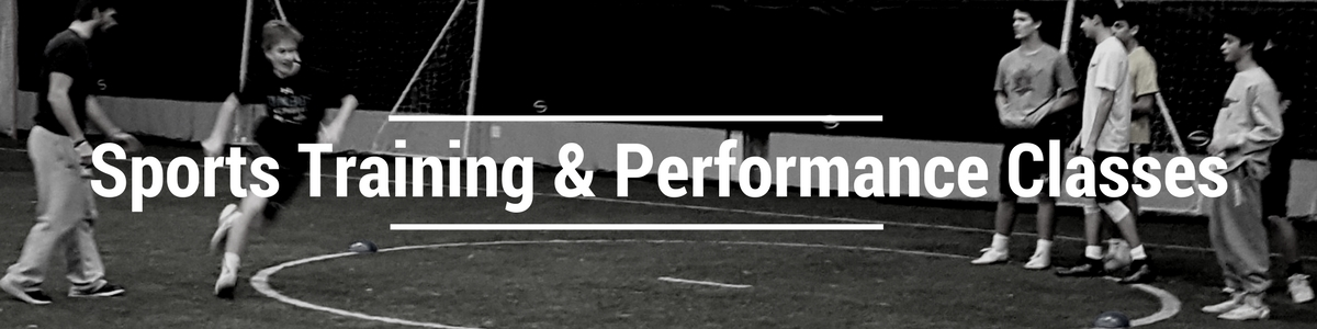 *training options availble for youth, high school, and college athletes