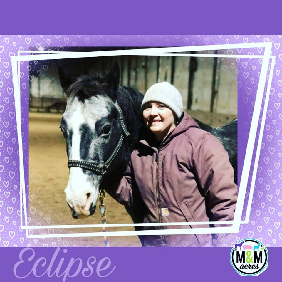 Eclipse and her human (Alicia)