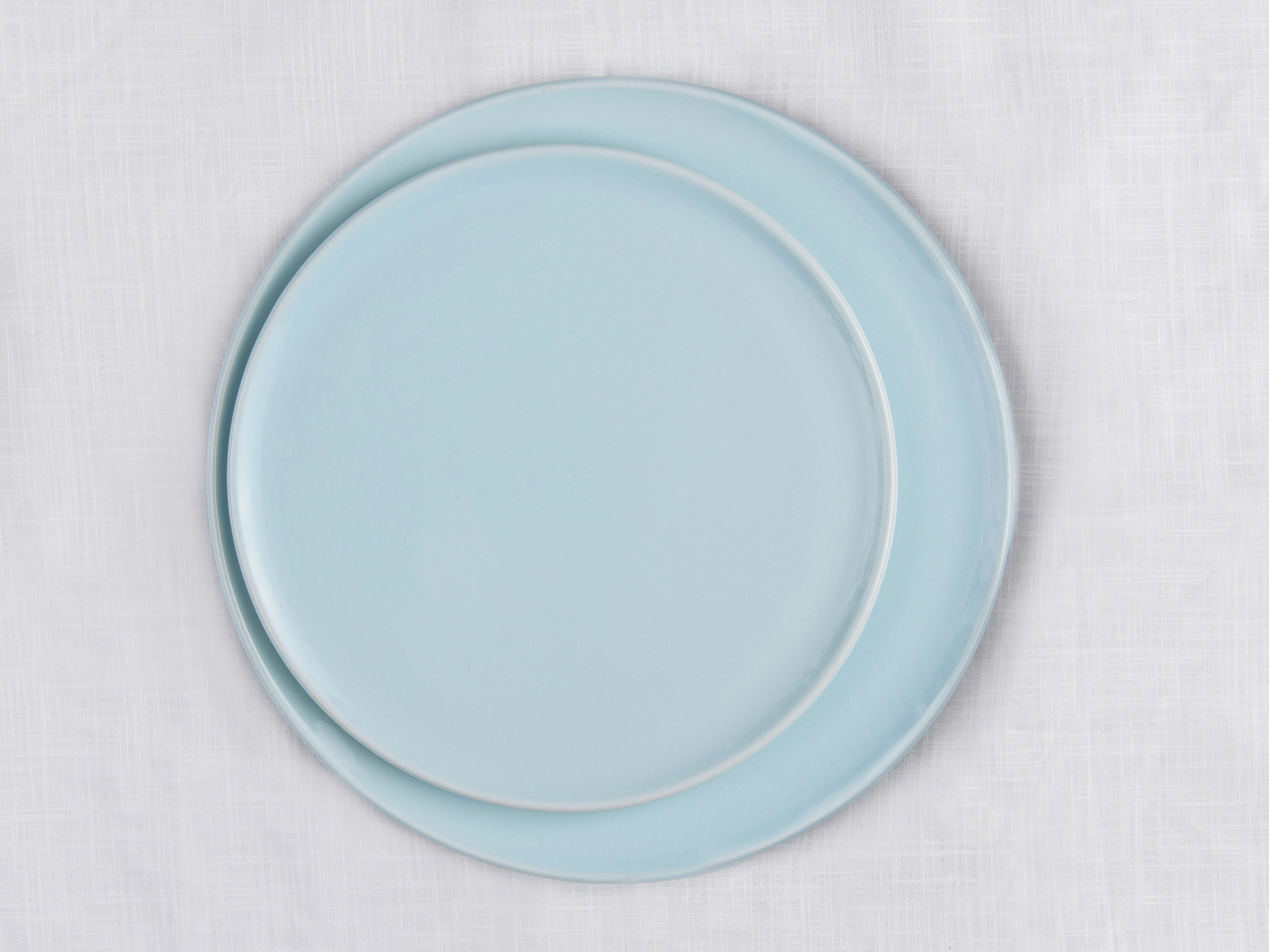 Canvas Dinnerware - Blue