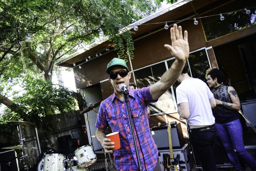 Host,music afficionado, and Saturday Service creator John Katovsich