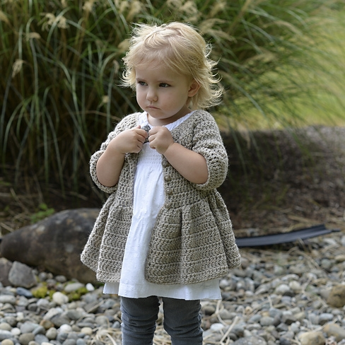 Rufflyn Cardigan by Heidi May Image © Heidi May