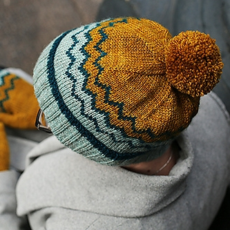 Ridgeline Hat by Tin Can Knits Image © Tin Can Knits