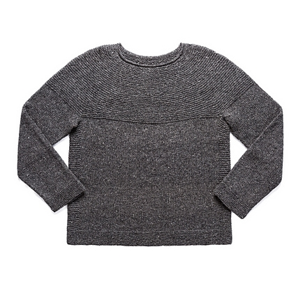 Cobblestone Pullover by Jared Flood Image © Brooklyn Tweed