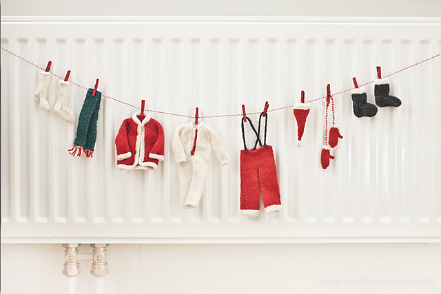 Santa's Laundry Line by Eleonore von Castelmur Image ©Alexandra Feo