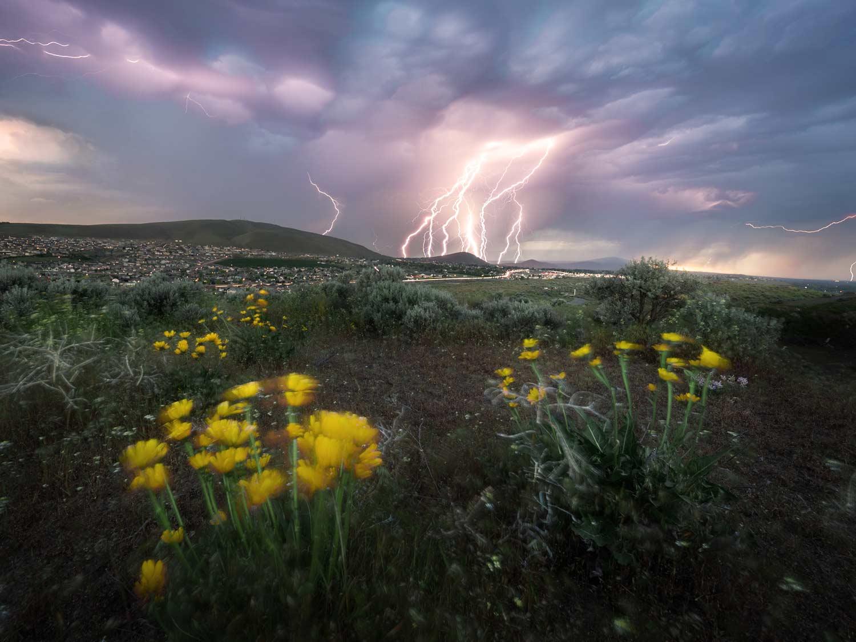 Desert Thunderstorm, available for  Purchase .