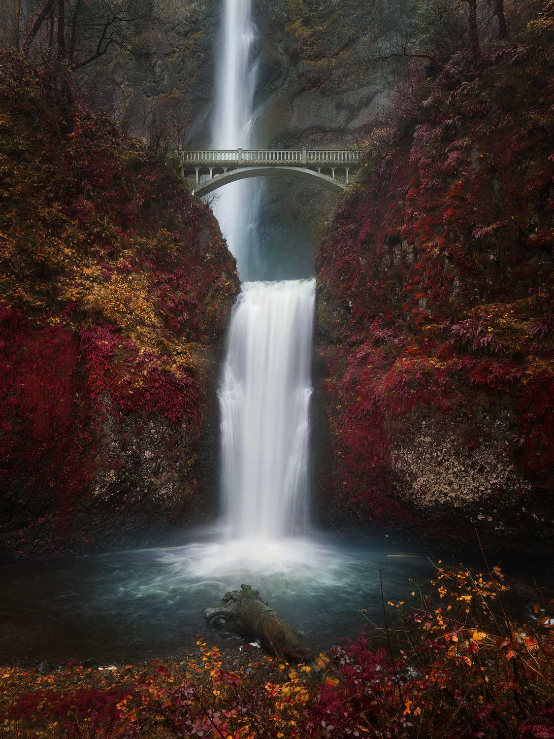 Multnomah Falls, Available for  Purchase .