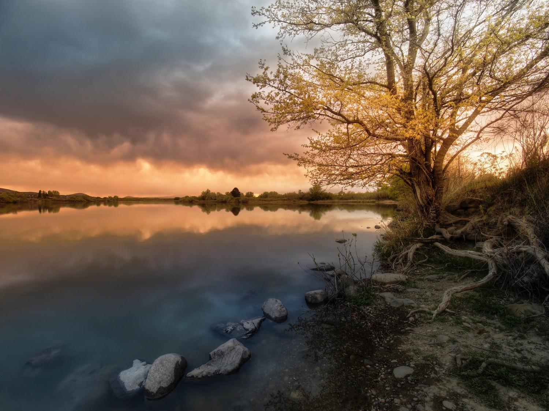 Bateman Island Sunset, Avaliable for  purchase .