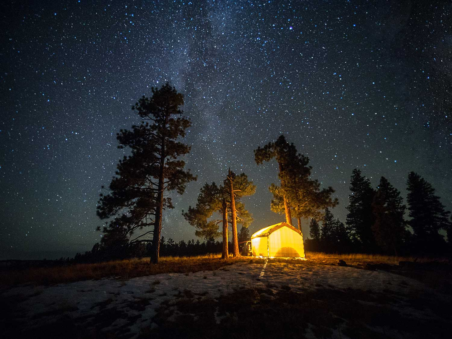 Camp Under the Milky Way, Available for  Purchase .