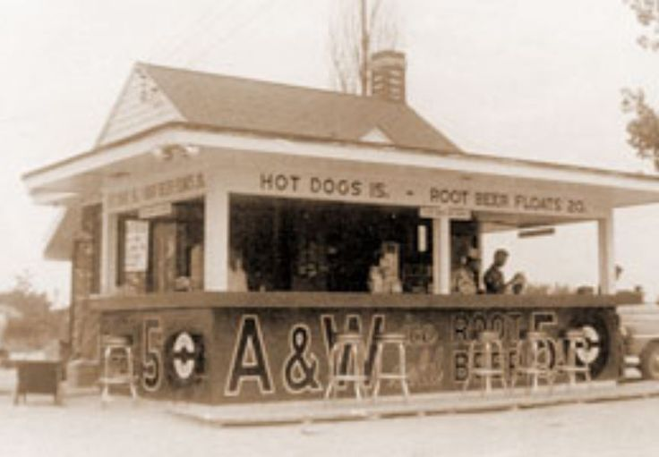 The first A&W Stand