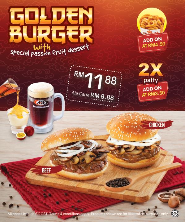 A&W  G olden Burger