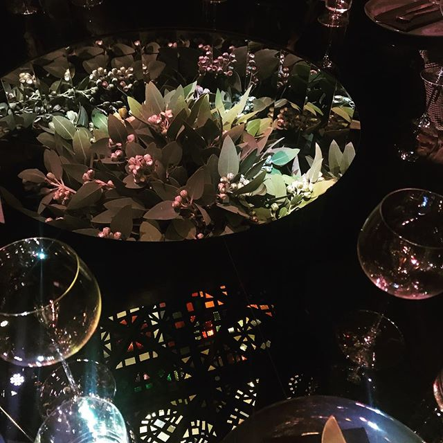 Fun night at the spectacular @artofdining2019! One of my favourites was this luscious table by @studiowonder and @tcykdesign 🍃