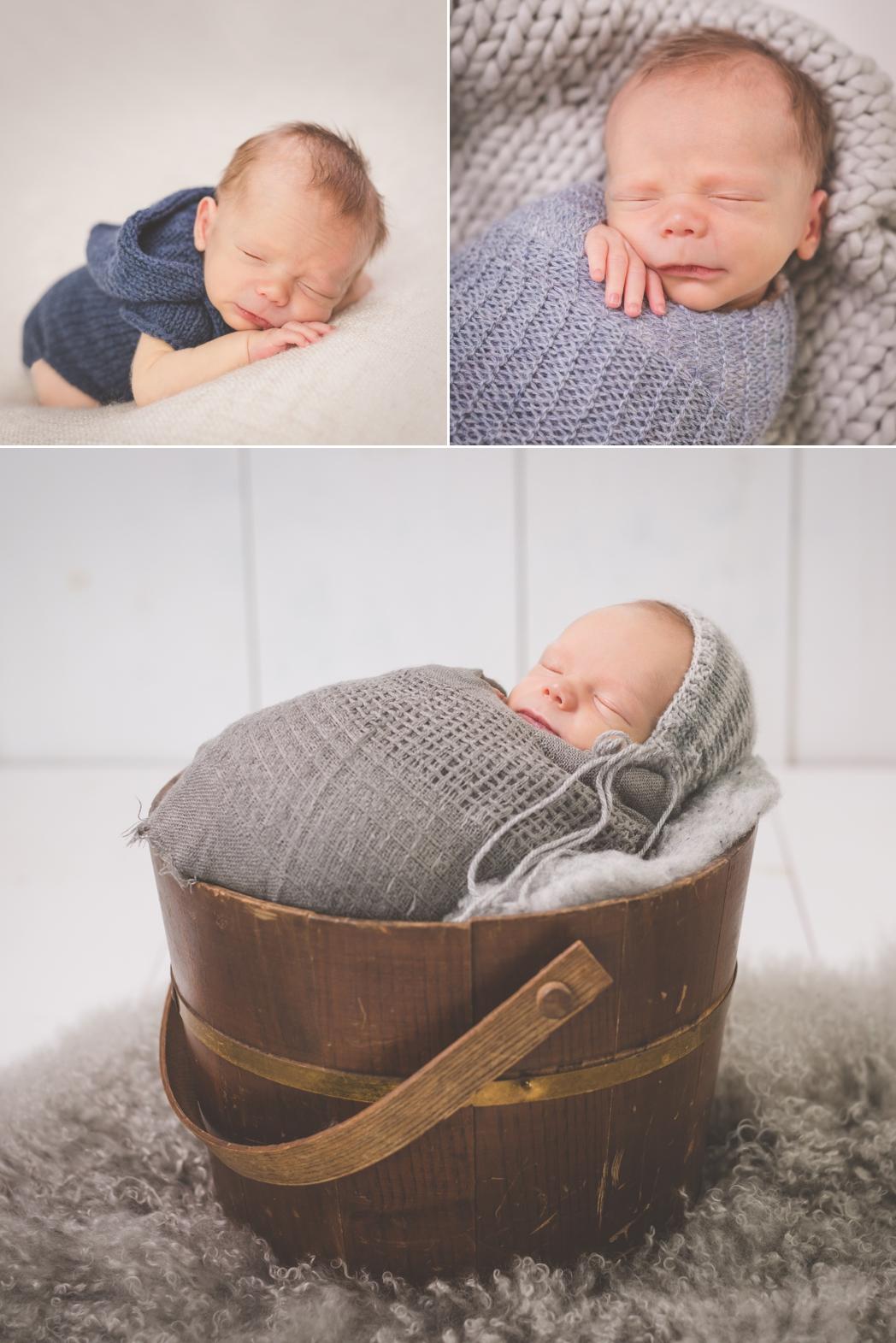 Bright Moon Photography | Greenville Newborn Photographer | Newborn Boy