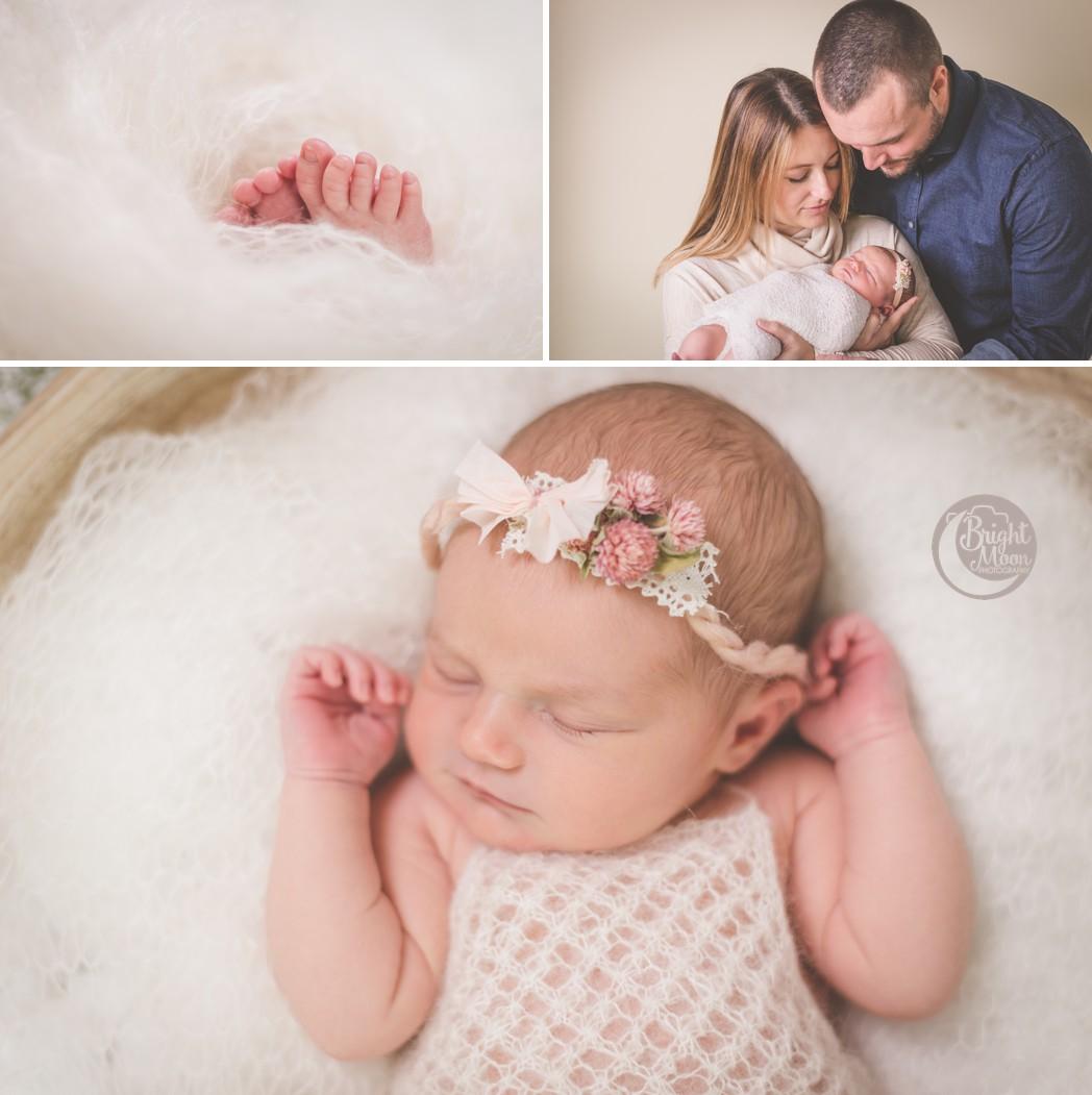 Harper | Bright Moon Photography | Greenville Newborn Photographer