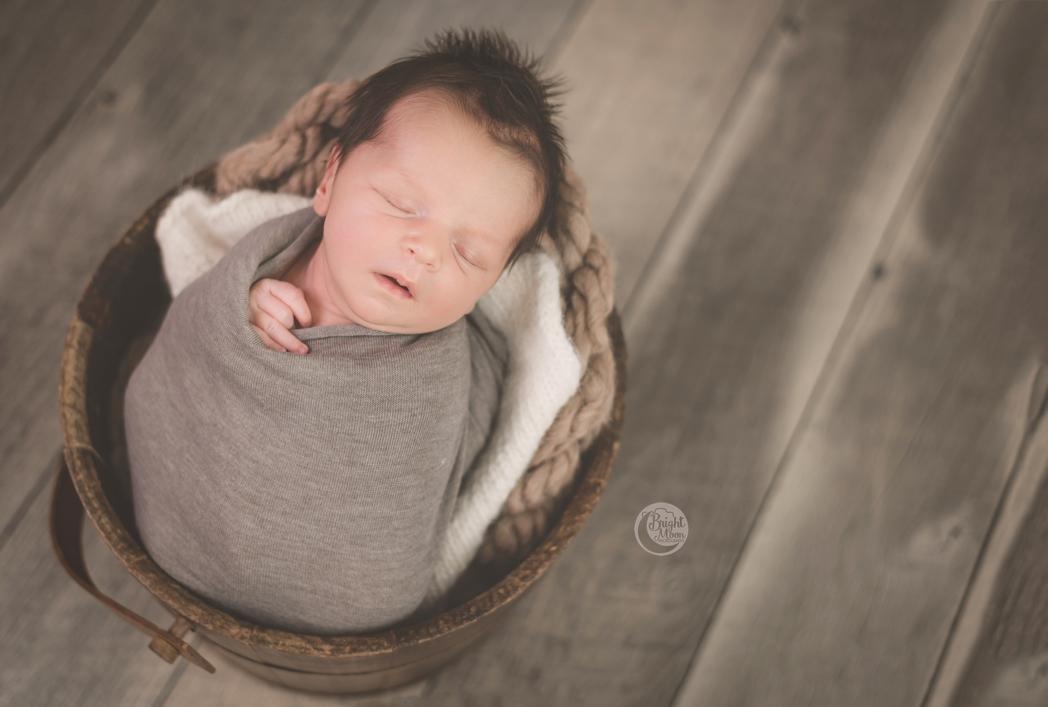 Alexander | Greenville Newborn Photographer | Bright Moon Photography