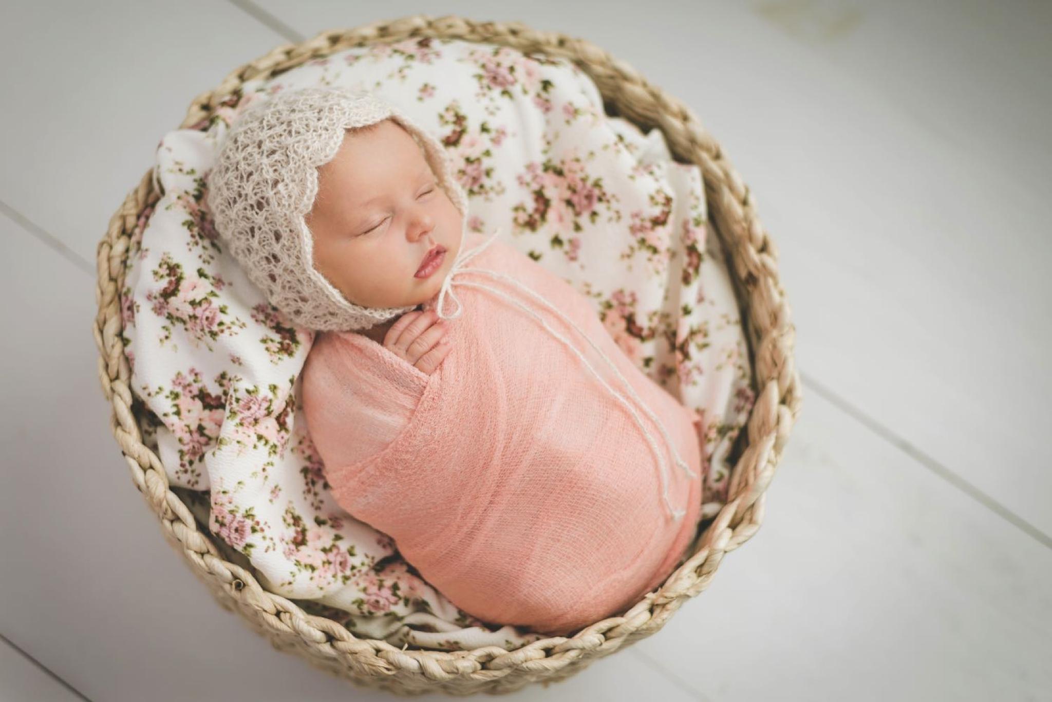 Baby Collins Margaret | Bright Moon Photography | Greenville Newborn Photographer