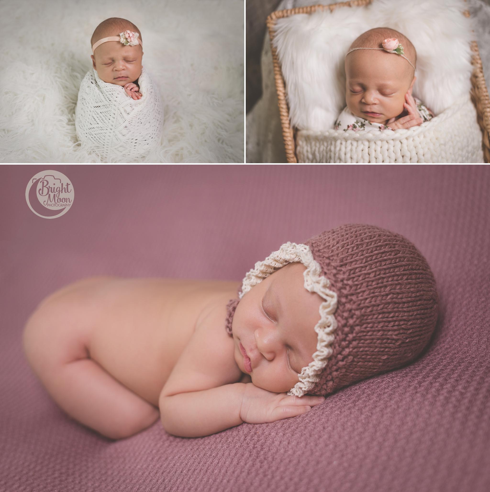 Bright Moon Photography | Newborn Baby girl Photographer
