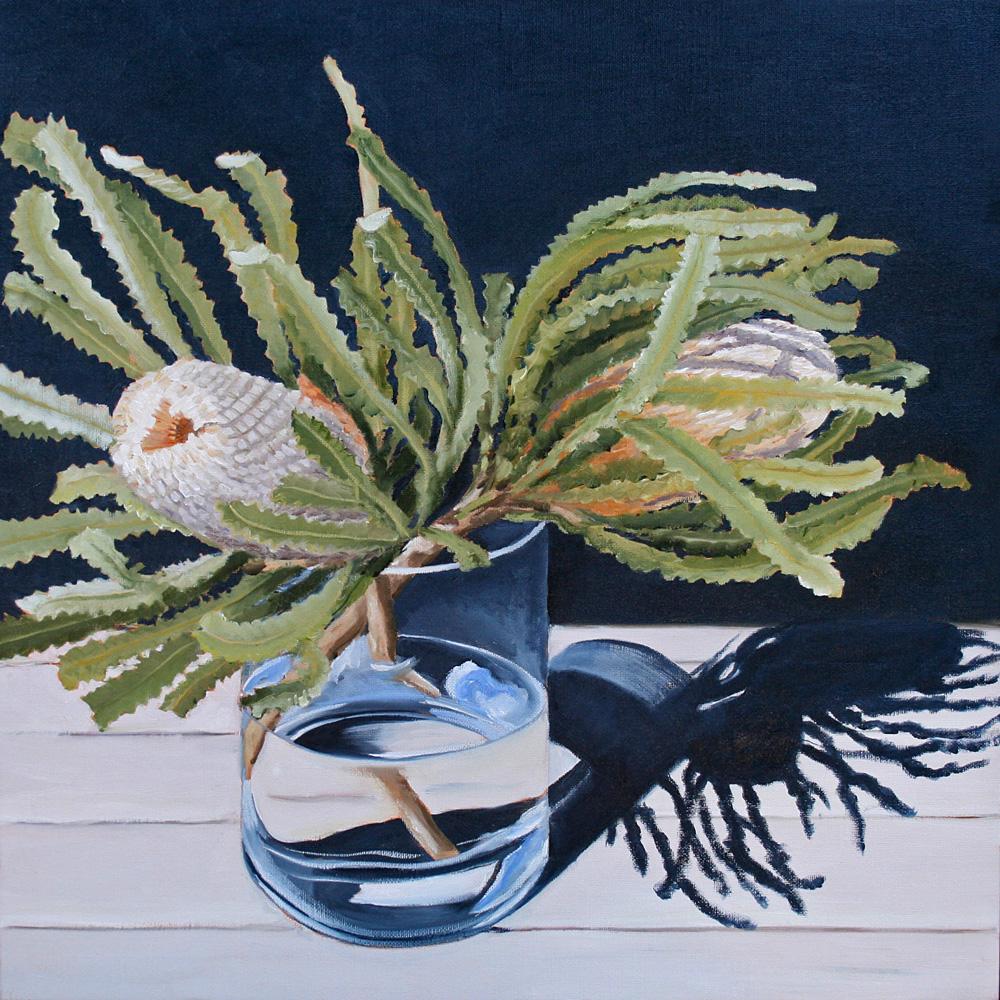 Sunlit Banksia