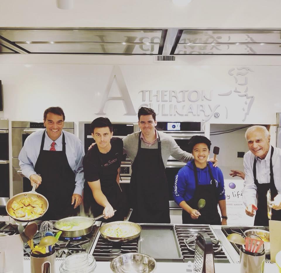 Meet the Drapers - gentlemen's cooking party