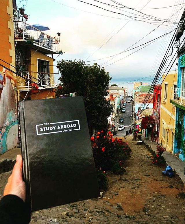Did you know over 500 copies of the Study Abroad Journal are out there in the world right now? It's true! This one is currently in Chile with @thenewdorothy on her year long digital nomad adventure. Are you using the journal on your adventure? Tag us and we will repost. #studyabroad #travelgram #adventure #instagood #travelstoke #seetheworld #intled #edabroad #collegelife #abroad #brazenaudaciousbadass