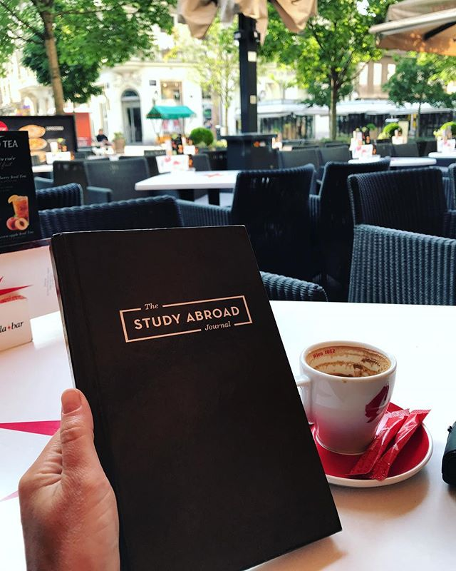 Early morning journaling session in Zagreb, #Croatia. Where is your favorite spot to sit, relax, and take stock of your experience? #writeyourownstory #nafsa2018 . Where does study Abroad take you? . . . #studyabroad #goabroad #seetheworld #theworldawaits #meaningfultravel #travelabroad #wheretonext #sheisnotlost #wanderlustlife